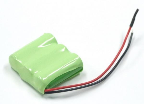 Custom Battery Packs - 3S1P 3.6V 300mAh NiMH Battery Pack